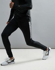 Спортивные штаны для бега Threadbare Active - Черный