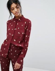 Рубашка с цветами Gestuz - Мульти
