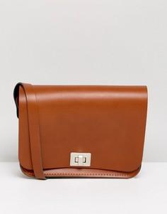 Сумка через плечо Leather Satchel Company - Рыжий