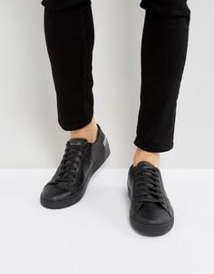 Черные кожаные кроссовки Tommy Hilfiger Jay - Черный
