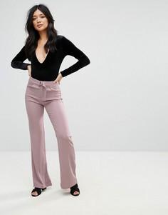 Брюки с широкими штанинами Glamorous - Розовый