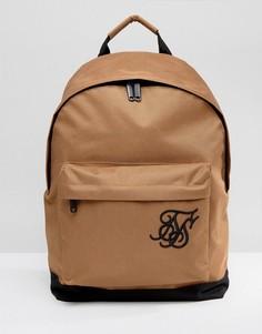 Бежевый рюкзак SikSilk - Светло-серый