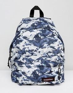 Уплотненный рюкзак с принтом журавлей Eastpak Pak R - Мульти
