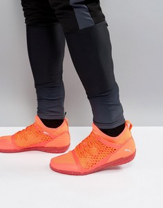 Оранжевые ботинки Puma IGNITE 365 Netfit Astro Turf 10447301 - Оранжевый