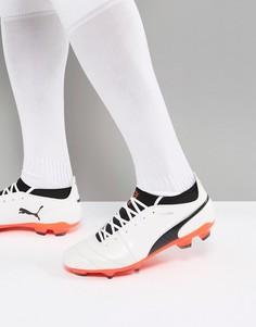 Белые бутсы для футбола Puma One 17.1 10407401 - Белый