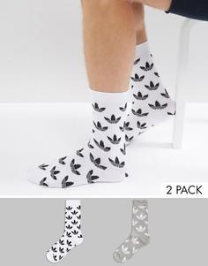 Серые носки adidas Originals - Серый