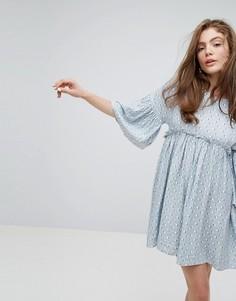 Свободное платье с принтом Willow and Paige - Мульти