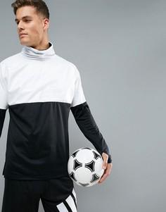 Монохромный спортивный свитшот adidas Football CE8165 - Черный