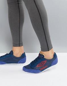 Замшевые кроссовки Umbro Ancoats - Фиолетовый