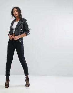 Спортивные штаны с манжетами G-Star - Черный