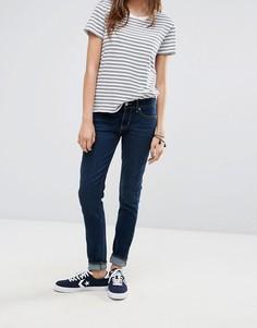 Зауженные джинсы цвета индиго с классической талией Levis 711 - Синий Levis®