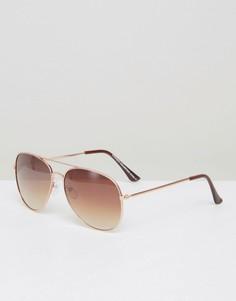 Солнцезащитные очки-авиаторы 7x - Золотой