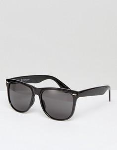Черные квадратные солнцезащитные очки A J Morgan - Черный