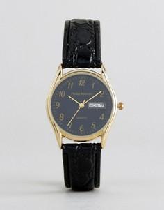Черные часы Philip Mercier - Черный