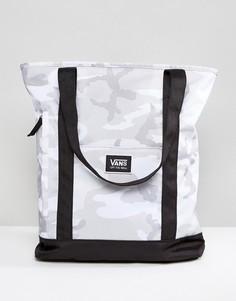Серая сумка-тоут с камуфляжным принтом Vans Made For This - Серый