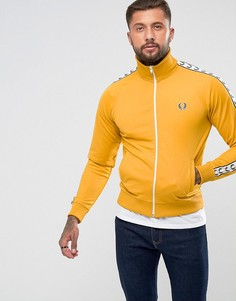 Желтая спортивная куртка Fred Perry Laurel Wreath - Желтый