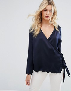 Блузка с запахом Y.A.S - Синий