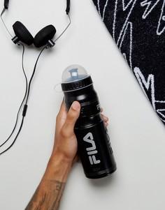 Черная бутылка для воды Fila - Темно-синий