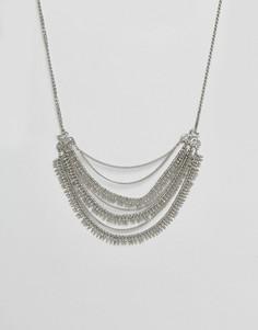 Ожерелье в несколько рядов Pieces - Серебряный
