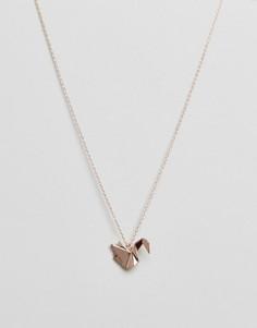 Ожерелье с подвеской Pieces - Золотой