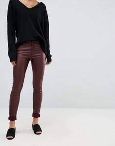 Облегающие джинсы с покрытием Vero Moda - Коричневый