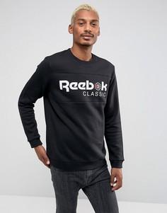 Черный свитшот Reebok Iconic BQ2655 - Черный