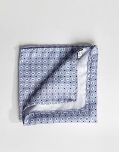 Серый платок для нагрудного кармана с цветочным принтом Jack & Jones - Серый