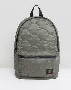 Стеганый рюкзак цвета хаки ASOS - Зеленый