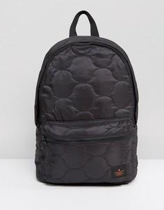 Черный стеганый рюкзак ASOS - Черный