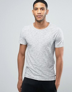 Меланжевая футболка Produkt - Белый