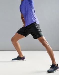 Черные тканые спортивные шорты adidas BK6191 - Черный