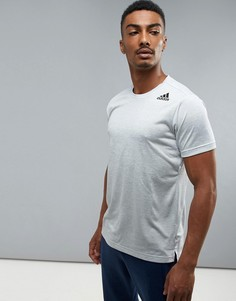 Белая футболка с эффектом деграде adidas Training BR4193 - Белый