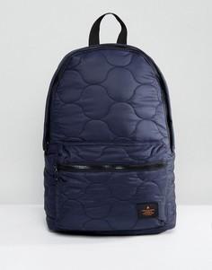 Темно-синий стеганый рюкзак ASOS - Темно-синий
