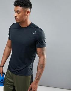 Черная футболка Reebok Training BR9670 - Черный
