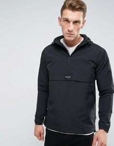 Черная куртка через голову с капюшоном Nicce London - Черный