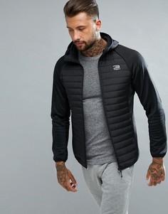 Стеганая спортивная куртка Jack & Jones Tech - Черный