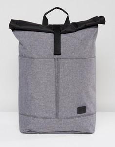 Серый рюкзак с подворачивающимся верхним клапаном Spiral - Серый
