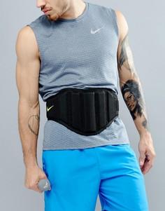 Черный структурированный ремень для тренировок Nike EL.02-023 - Черный