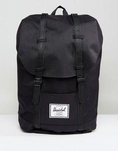 Черный рюкзак Herschel Supply Co Retreat - Черный