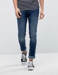 Синие стретчевые джинсы скинни BOSS Orange by Hugo Boss Orange72 - Синий