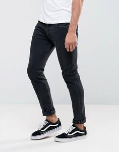 Темно-серые выбеленные джинсы скинни Levis 501 - Серый Levis®