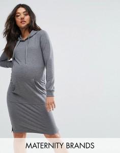 Платье-свитер Mamalicious - Серый Mama.Licious