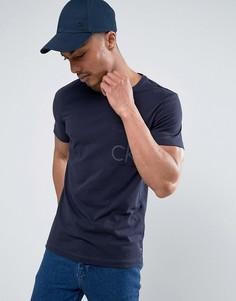 Футболка с логотипом на кармане Calvin Klein - Синий