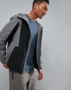 Складываемая куртка для бега (серый/черный) Perry Ellis 360 Challenger - Серый