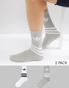Белые носки adidas Originals - Белый