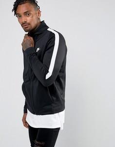 Черная спортивная куртка Nike Tribute Poly 861648-010 - Черный