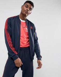 Темно-синяя спортивная куртка adidas Originals Superstar BS2659 - Темно-синий