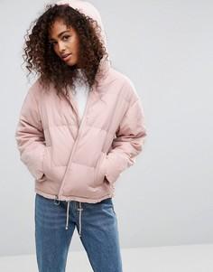 Дутая куртка ASOS Ultimate - Розовый