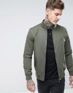 Зеленая куртка Харрингтон с принтом пейсли на подкладке Pretty Green - Зеленый
