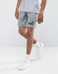 Серые трикотажные шорты Puma ESS No.1 83826103 - Серый